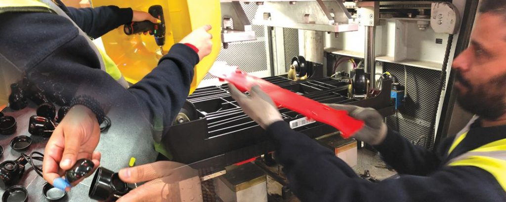 Plastic injection moulders with in-house finishing and assembly