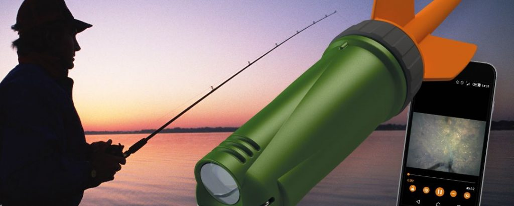 Robust 'fish-finder unit' designed to withstand repeat 'crash tests' and most challenging elements