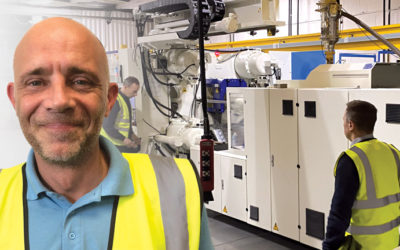 Large injection moulding capability increased