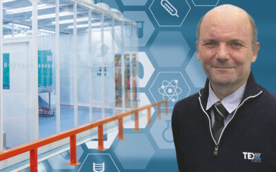 Cleanroom expansion at Barnstaple